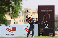 Romain Langasque (FRA) during the final round of the Ras Al Khaimah Challenge Tour Grand Final played at Al Hamra Golf Club, Ras Al Khaimah, UAE. 03/11/2018<br /> Picture: Golffile | Phil Inglis<br /> <br /> All photo usage must carry mandatory copyright credit (&copy; Golffile | Phil Inglis)