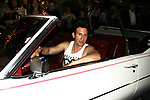 "Actor William DeMeo in antique Cadillac - Brooklyn, New York celebratges Actor William DeMeo's upcoming role in Gotti film in which he plays Sammy ""The Bull"" Gravano in a block party on May 23, 2018 along with cast.  (Photo by Sue Coflin/Max Photos)"