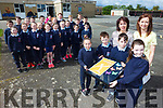 Third class in Ardfert NS received a Creative Schools Award by the Association for Creativity and Arts in Education. Pictured front l-r: Clara Daly, Daniel Duffy, Antoinette O'Mahony (SNA), Peter O'Mahony, Aisling O'Connor and Marie O'Connell (teacher).