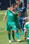 11.01.2019, Bidvest Stadion, Braampark, Johannesburg, RSA, FSP, SV Werder Bremen (GER) vs Bidvest Wits FC (ZA)<br /> <br /> im Bild / picture shows <br /> <br /> JUbel 2:0 durch Max Kruse (Werder Bremen #10) mit Nuri Sahin (Werder Bremen #17)<br /> <br /> Foto © nordphoto / Kokenge