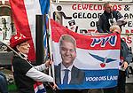 20170304,  Utrecht, PEGIDA demonstratie op Mariaplaats. pegida Nederland voorman Edwin Wagensveld spreekt.<br /> foto Michael Kooren