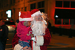 Tree Lighting Ceremony with Santa in Asbury Park, New Jersey. 12/03/16