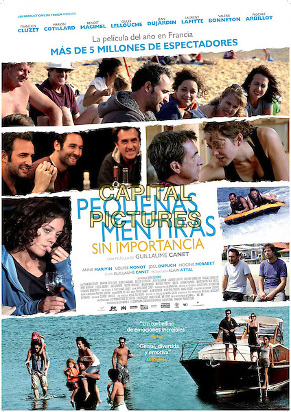 SPANISH POSTER ART.in Little White Lies (2010) (Les petits mouchoirs).*Filmstill - Editorial Use Only*.CAP/FB.Supplied by Capital Pictures.