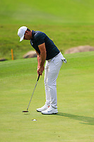 Brooks Koepka (USA) on the 8th green during the 2nd round at the WGC HSBC Champions 2018, Sheshan Golf CLub, Shanghai, China. 26/10/2018.<br /> Picture Fran Caffrey / Golffile.ie<br /> <br /> All photo usage must carry mandatory copyright credit (&copy; Golffile | Fran Caffrey)