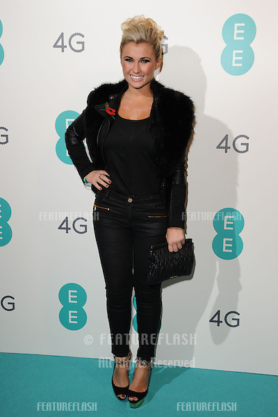 Billie Faiers arriving for the Everything Everywhere 4G launch party at Battersea Power Station, London. 01/11/2012 Picture by: Steve Vas / Featureflash