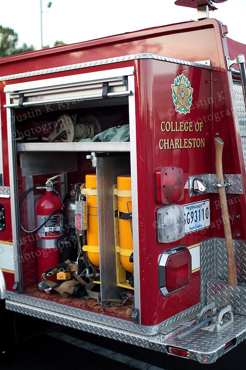Fire Engine Truck Ladder Pumper Quint apparatus equipment firefighting gear