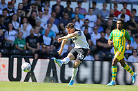 Tom Lawrence of Derby County shoots during Derby County vs West Bromwich Albion, Sky Bet EFL Championship Football at Pride Park Stadium on 24th August 2019