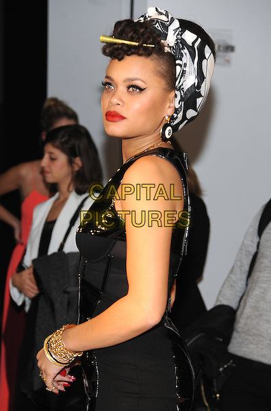 NEW YORK, NY - NOVEMBER 2:  Andra Day attends the 12th annual CFDA/Vogue Fashion Fund Awards at Spring Studios on November 2, 2015 in New York . <br /> CAP/MPI/STV<br /> &copy;STV/MPI/Capital Pictures