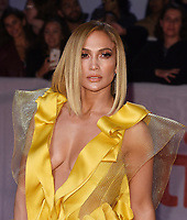 "TORONTO, ONTARIO - SEPTEMBER 07: Jennifer Lopez attends the ""Hustlers"" premiere during the 2019 Toronto International Film Festival at Roy Thomson Hall on September 07, 2019 in Toronto, Canada.    <br /> CAP/MPI/IS<br /> ©IS/MPI/Capital Pictures"
