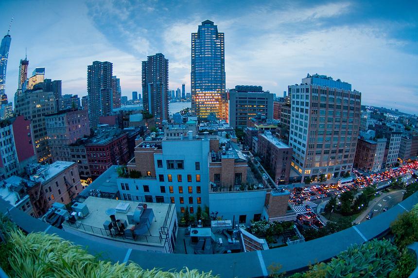 Annie's View South, Manhattan, New York, US