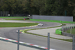 Le Mans Porsche 919 Prototype 1-Hybrid (LMP1-H) testing at Monza Autodrome through the Ascari Chicane during the 72nd Italian Open held in the Royal Park, Monza, Italy. 17-20th September 2015.<br /> Picture Eoin Clarke | Golffile