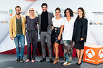 Carlos Serrano, Susi Sanchez, Miguel Angel Munoz, Alejandra Onieva, Elvira Minguez and Itziar Atienza attends presentation of 'Presunto Culpable' during FestVal in Vitoria, Spain. September 05, 2018. (ALTERPHOTOS/Borja B.Hojas)
