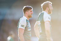 Mike Fitzgerald of Leicester Tigers. Aviva Premiership match, between Northampton Saints and Leicester Tigers on April 16, 2016 at Franklin's Gardens in Northampton, England. Photo by: Patrick Khachfe / JMP