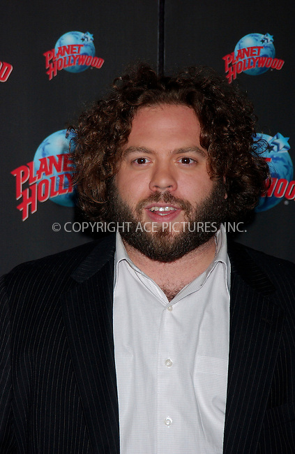 WWW.ACEPIXS.COM . . . . .....August 29, 2007. New York City.....Actor Dan Fogler donates memorabilia from his new film 'Balls of Fry' at Planet Hollywood Times Square in New York City...  ....Please byline: Kristin Callahan - ACEPIXS.COM..... *** ***..Ace Pictures, Inc:  ..Philip Vaughan (646) 769 0430..e-mail: info@acepixs.com..web: http://www.acepixs.com