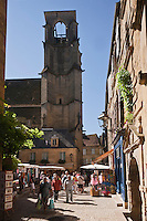 Europe/France/Aquitaine/24/Dordogne/Vallée de la Dordogne/Périgord Noir/Sarlat-la-Canéda: Vieille rue du centre - Rue des Consuls