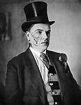 David Burliuk (1882/1967) - Russian poet-futurist. 1929 / Бурлюк Давид Давидович (1882/1967) - русский поэт-футурист. 1929 г.