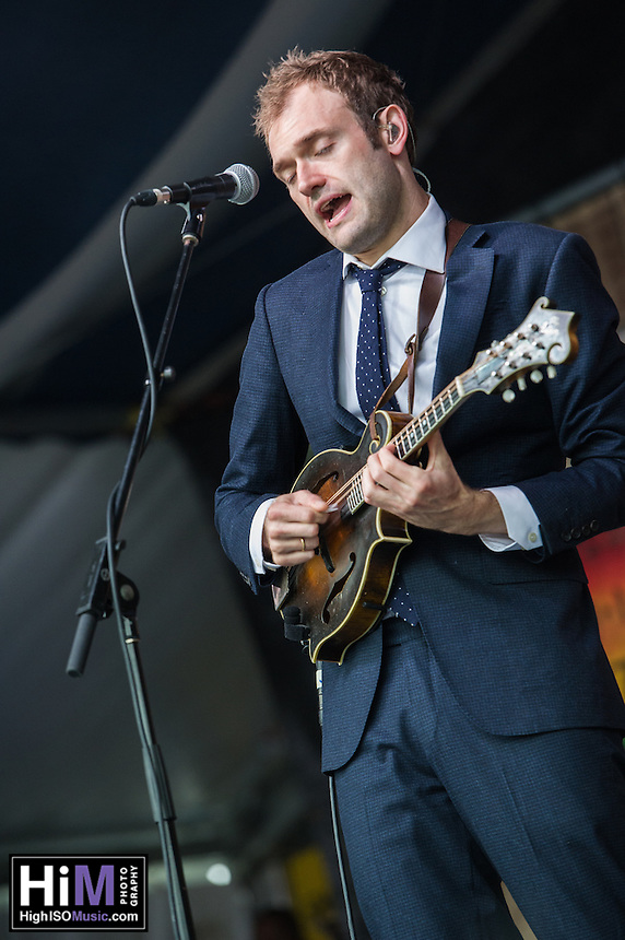 The Punch Brothers perform at Jazz Fest 2016.