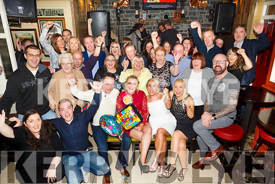 Jade Cooney, Monavalley, Tralee celebrates her 21st Birthday with family and friends at the Brogue Inn on Saturday