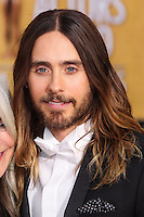 LOS ANGELES, CA - JANUARY 18: Jared Leto at the 20th Annual Screen Actors Guild Awards held at The Shrine Auditorium on January 18, 2014 in Los Angeles, California. (Photo by Xavier Collin/Celebrity Monitor)