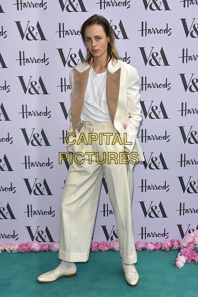 Edie Campbell at the V&amp;A&rsquo;s summer party at the Victoria and Albert Museum, London, England on June 22, 2016<br /> CAP/PL<br /> &copy;Phil Loftus/Capital Pictures