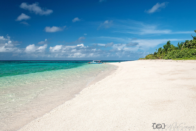 Tepuka Island in the Funafuti Marine Conservation Area, Tuvalu