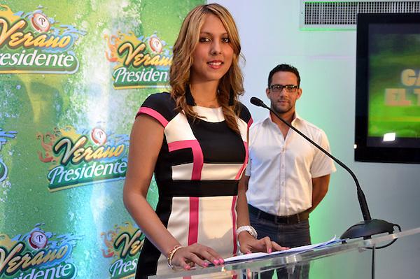 Anuncio del Verano Presidente 2013. BQ Hotel.<br /> Foto: Ariel D&iacute;az-Alejo/acento.com.do.<br /> Fecha: 20/06/2013.