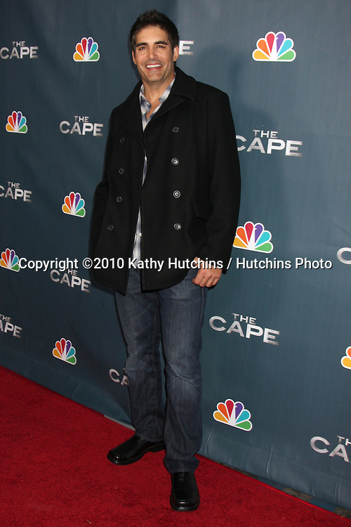 "LOS ANGELES - JAN 4:  Galen Gering arrives at ""The Cape"" Premiere Party at Music Box Theater on January 4, 2011 in Los Angeles, CA."