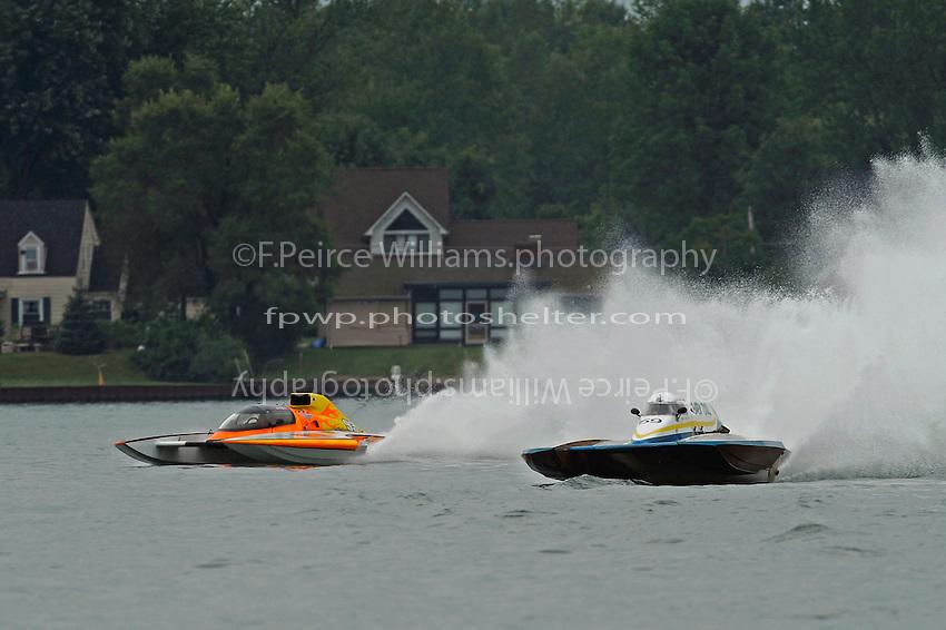 "Jimmy King, GP-93 ""Renegade""  and Mario Maraldo, GP-59 ""Baby Doll III (Grand Prix Hydroplane(s)"