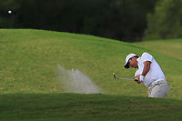 Richard Bland (ENG) on the 9th during Round 1 of the Challenge Tour Grand Final 2019 at Club de Golf Alcanada, Port d'Alcúdia, Mallorca, Spain on Thursday 7th November 2019.<br /> Picture:  Thos Caffrey / Golffile<br /> <br /> All photo usage must carry mandatory copyright credit (© Golffile | Thos Caffrey)