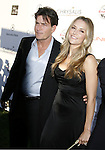 Charlie Sheen and wife Brooke Mueller arrive at 7th Annual Chrysalis Butterfly Ball on May 31, 2008 at a Private Residence in Los Angeles, California.