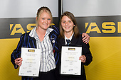 Girls Hockey finalists Samantha Harrison & Danielle Jones. ASB College Sport Young Sportperson of the Year Awards 2008 held at Eden Park, Auckland, on Thursday November 13th, 2008.