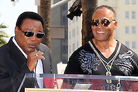 George Benson, Ray Parker Jr.<br /> at the Ray Parker Jr. Star on the Hollywood Walk of Fame, Hollywood, CA 03-06-14<br /> David Edwards/DailyCeleb.Com 818-249-4998