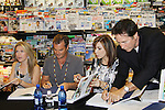 """Days Of Our Lives -  Lauren Koslow, Melissa Reeves, Drake Hogestyn, Wally Kurth meet the fans as they sign """"Days Of Our Lives Better Living"""" on September 27, 2013 at Books-A-Million in Nashville, Tennessee. (Photo by Sue Coflin/Max Photos)"""