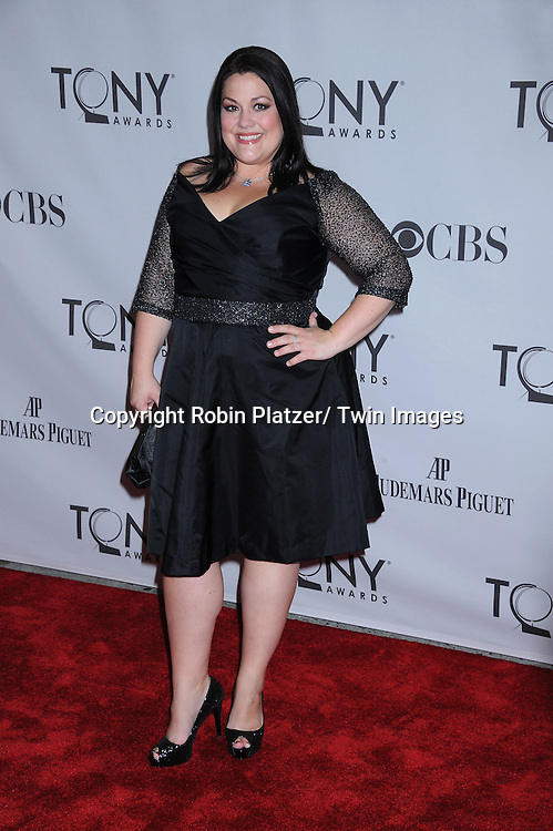 "Brooke Elliott of ""Drop Dead Diva"" attending the 65th Annual Tony Awards at The Beacon Theatre in New York City on June 12, 2011."