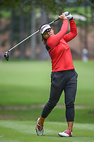 Wichanee Meechai (THA) watches her tee shot on 11 during round 2 of the U.S. Women's Open Championship, Shoal Creek Country Club, at Birmingham, Alabama, USA. 6/1/2018.<br /> Picture: Golffile | Ken Murray<br /> <br /> All photo usage must carry mandatory copyright credit (&copy; Golffile | Ken Murray)