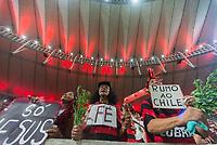 RIO DE JANEIRO, RJ, 23.10.2019 - FLAMENGO-GRÊMIO- Torcida do Flamengo antes da partida contra o Grêmio em jogo válido pela Semifinal da Copa Libertadores da América 2019 no estádio do Maracanã no Rio de Janeiro, nesta quarta-feira, 23. (Foto: Anderson Lira/Brazil Photo Press/Folhapress)