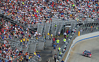 May 31, 2008; Dover, DE, USA; Nascar Nationwide Series driver Joey Logano during the Heluva Good 200 at the Dover International Speedway. Mandatory Credit: Mark J. Rebilas-US PRESSWIRE
