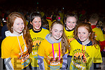 Emily O'Mahony, Brenda murphy, Katie Ring, Cailrín jones, Fiona O'rahilly Gneeveguilla at Nathan's walk Darkness into Light walk in aid of Pieta House in Killarney racecourse  on Saturday