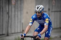 eventual stage winner Julian Alaphilippe (FRA/Deceuninck - Quick-Step)<br /> <br /> Stage 6: Saint-Vulbas to Saint-Michel-de-Maurienne (228km)<br /> 71st Critérium du Dauphiné 2019 (2.UWT)<br /> <br /> ©kramon
