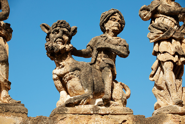 Villa Palagonia, Bagheria, Sicily Pictures, photos, images & fotos