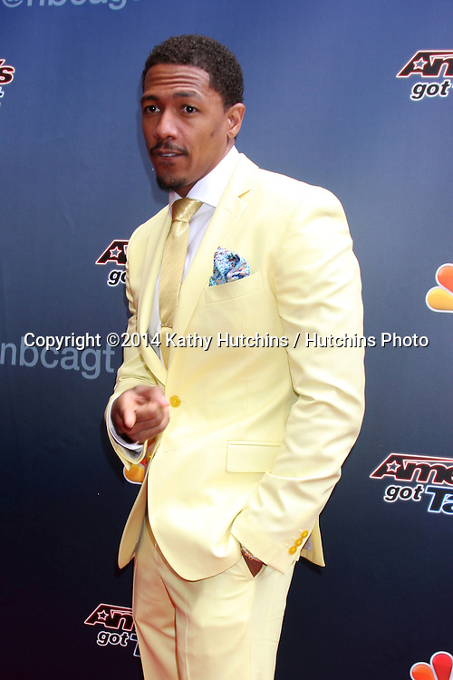 """LOS ANGELES - APR 22:  Nick Cannon at the """"America's Got Talent"""" Los Angeles Auditions Arrivals at Dolby Theater on April 22, 2014 in Los Angeles, CA"""