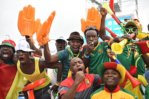 February 5th, 2017, Gabon, Africa; African Cup of Nations football tounament final, Egypt versus Cameroon;  Closing ceremony<br />