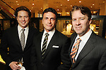 From left: Christopher Mendel, Monsour Taghdisi an Michael Mithoff at the Legacy Community Health Services 11th spring soir?e at Neiman Marcus Sunday May 02,2010.  (Dave Rossman Photo)