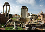 Temple of Castor and Pollux Temple of Vesta (center) Forum Romanum Rome
