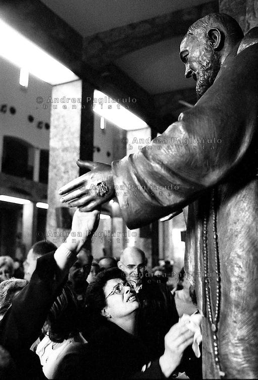 Italia, San Giovanni Rotondo (FG).<br /> Il Santuario di S.Maria delle Grazie.<br /> Italy, San Giovanni Rotondo (FG).<br /> The Sanctuary of Santa Maria delle Grazie.