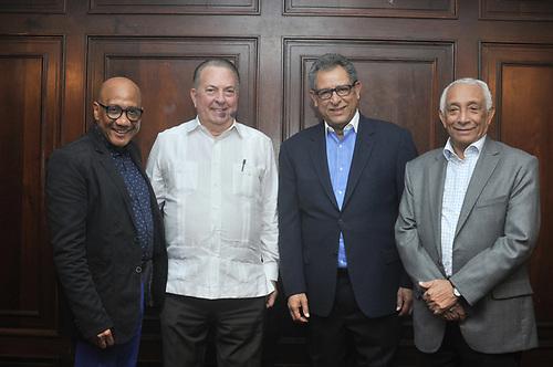 Dioni Fernández, Eduardo Selman, Félix Jiménez y Rafael Solano.