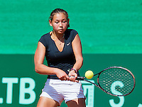 Netherlands, Rotterdam August 05, 2015, Tennis,  National Junior Championships, NJK, TV Victoria, Birgit Heijnemans<br /> Photo: Tennisimages/Henk Koster