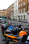 Londyn, 2009-03-05. Great Pulteney Street - londyńska dzielnica Soho.