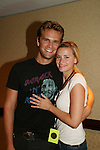 """OLTL's John Brother """"Jared"""" poses with his wife Alison at the One Life To Live Fan Club Luncheon on August 16, 2008 at the New York Marriott Marquis, New York, New York.  (Photo by Sue Coflin/Max Photos)"""