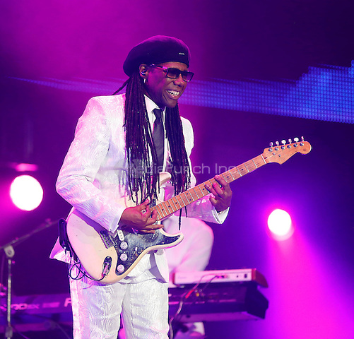 NEW ORLEANS - JULY 4: Nile Rogers performs at the 2014 Essence Festival at the Superdome in New Orleans, Louisiana on July 4, 2014. Credit: PGHingle/MediaPunch